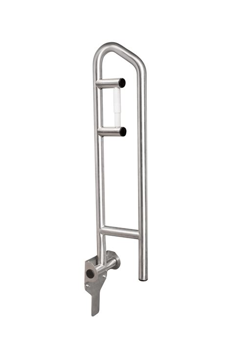 swing up grab bar marvelous swing up grab bar with toilet paper holder