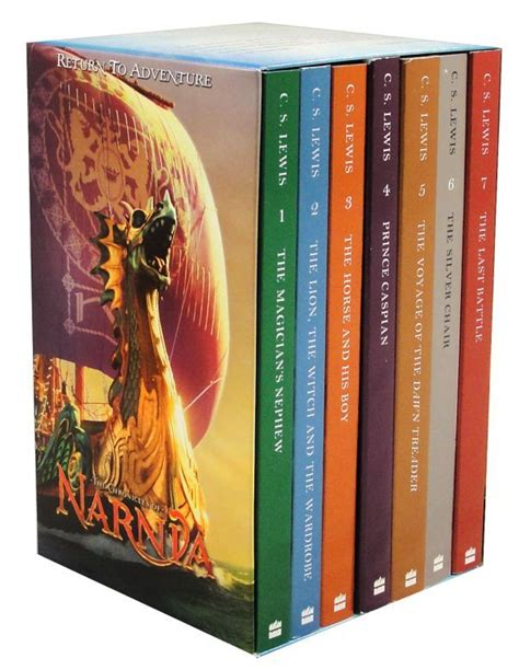 narnia film box set chronicles of narnia boxed set movie promo ed 046125