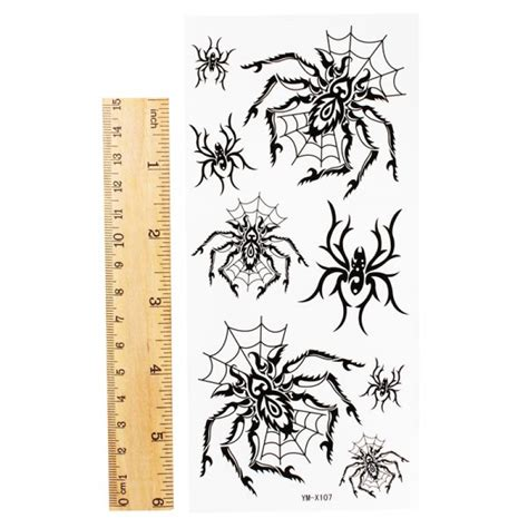 temporary tattoo paper malaysia buy spider totem design insect waterproof temporary tattoo