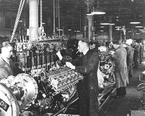 rolls royce merlin engine rolls royce merlin engines in production in nottingham