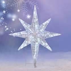 amazon com christmas 4 led lighted star of bethlehem