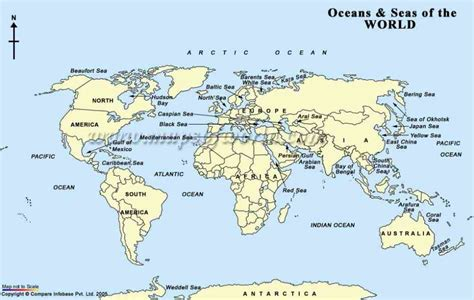 map world seas map of the world and seas holidaymapq