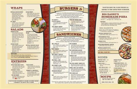 best menu big s menus soulard bigdaddy s soulard bigdaddy s