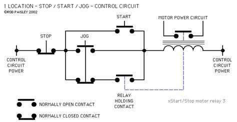 wiring diagram pictures exles of start stop wiring