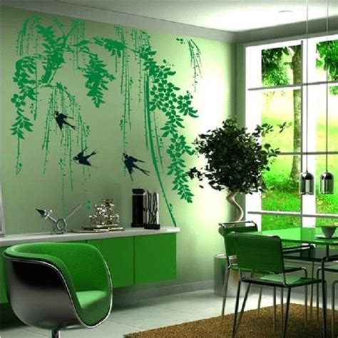 trees amp flowers wall stickers branches wall art decals