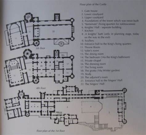 neuschwanstein castle floor plan the floor plan photo neuschwanstein