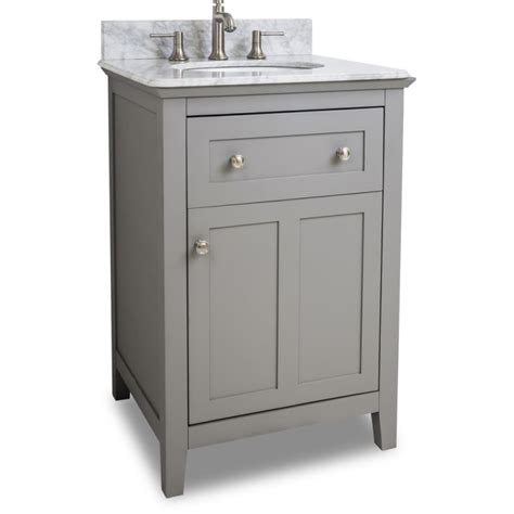 bathroom vanities 24 wide jeffrey alexander van102 24 t grey chatham shaker collection 24 inch wide bathroom