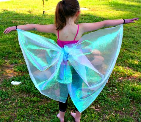 How To Make Paper Butterfly Wings - diy no sew butterfly wings