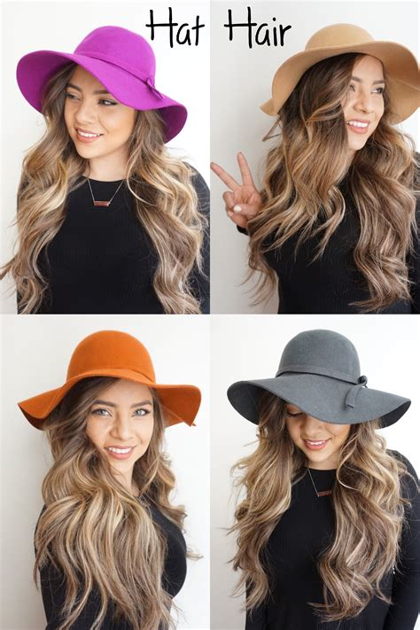 Hairstyles For Hats Curly Hair by The Of Hat Hair Hairstyles