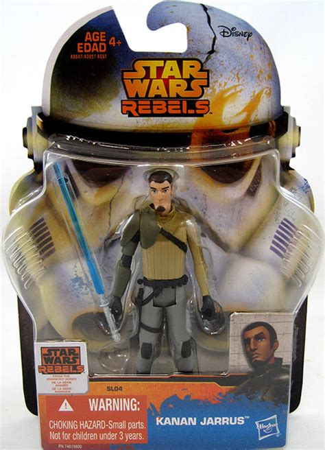 Wars Rebels 3 75 Inch Figure Kanan Jarrus Stormtrooper D kanan jarrus sl04 wars rebels saga legends