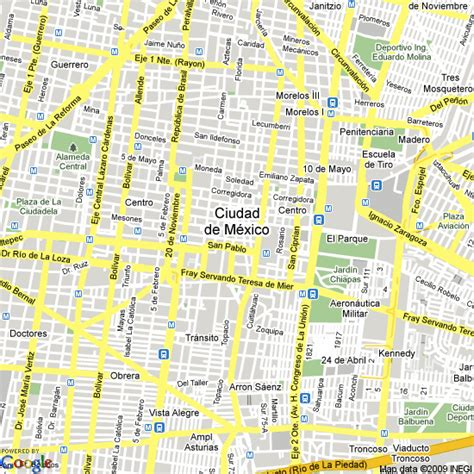 mexico city on a map map of mexico city mexico map