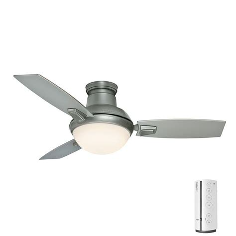 Led Light For Ceiling Fan Dempsey 44 In Low Profile Led Indoor Fresh White Ceiling Fan With Universal Remote 59244