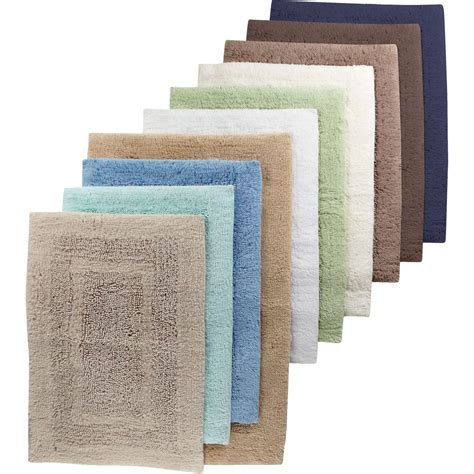 martha stewart collection plush bath rug bath home