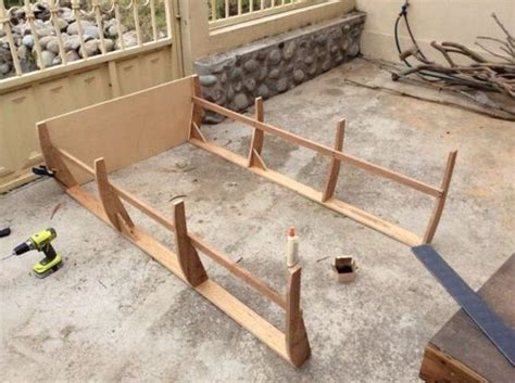 how to build a boat bed how to build a boat bed from scratch barnorama