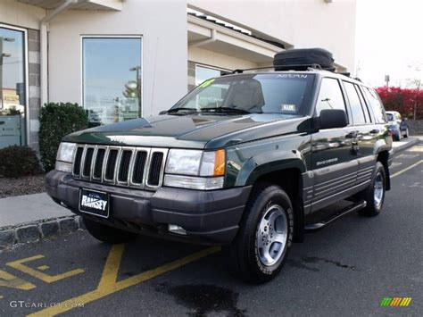 1998 forest green pearlcoat jeep grand laredo 4x4 20083679 gtcarlot car color