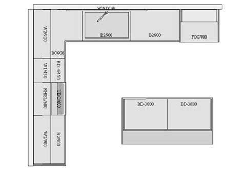 l kitchen layout with island kitchen direct