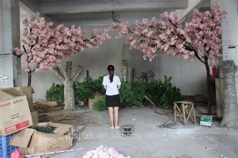 Wholesale Suppliers Home Decor new design garden wedding arch use cherry blossom flower