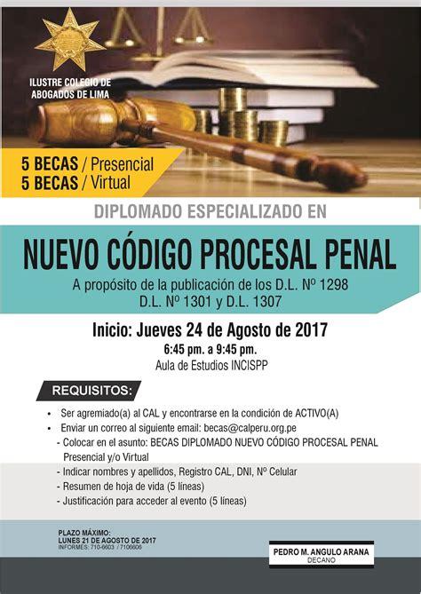 codigo procesal penal centro de documentacin e derecho administrativo y p a sancionador colegio de