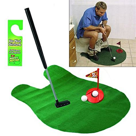 bathroom golf game awardpedia potty putter toilet time golf game