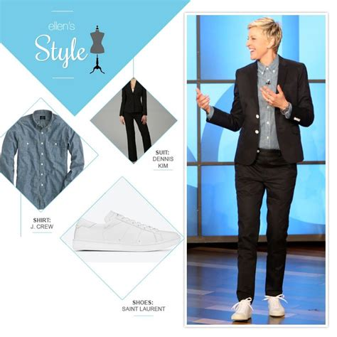 Degeneres Wardrobe Stylist by 1000 Images About S Style On Vests And Degeneres
