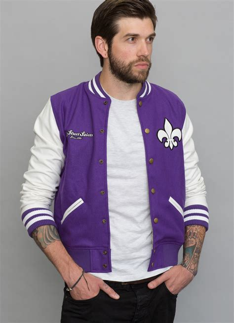Ready Gan Jaket Baseball Varsity 3rd saints jacket gaming fashion