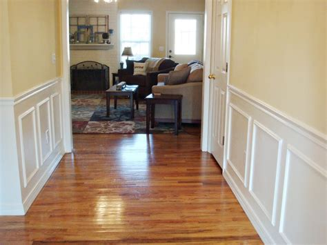 Cheap Wainscoting Ideas Diy And Cheap Wainscoting For The Home