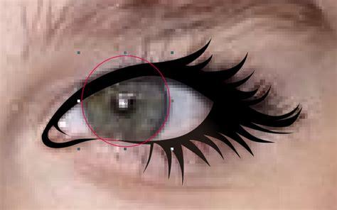 tutorial gambar mata tutorial membuat vector mata eye
