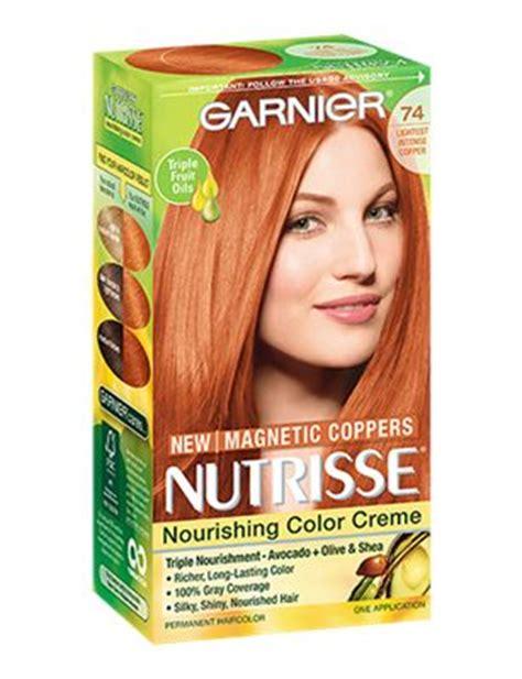 lightest strawberry blonde box nourishing color creme 74 lightest intense copper hair