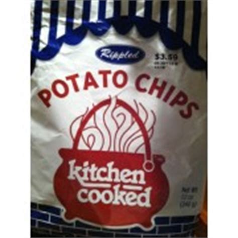 Kitchen Cooked Chips by Kitchen Cooked Potato Chips Rippled Calories Nutrition