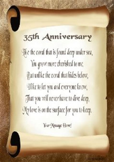 35th Wedding Anniversary Quotes. QuotesGram