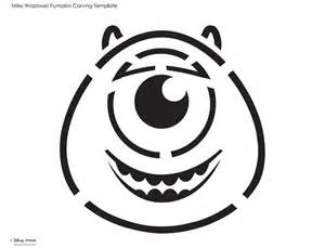 mike wazowski pumpkin carving template mike wasowski pumpkin carving template