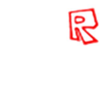old roblox 'r' t shirt roblox