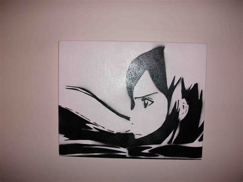 painting template anime stencil on canvas by munkyism on deviantart