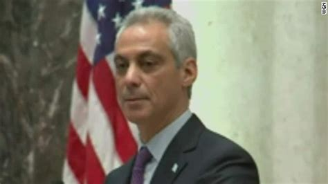 after mcdonald killing emanuel tries to buy time with obama silent on fate of hometown mayor amid racial unrest