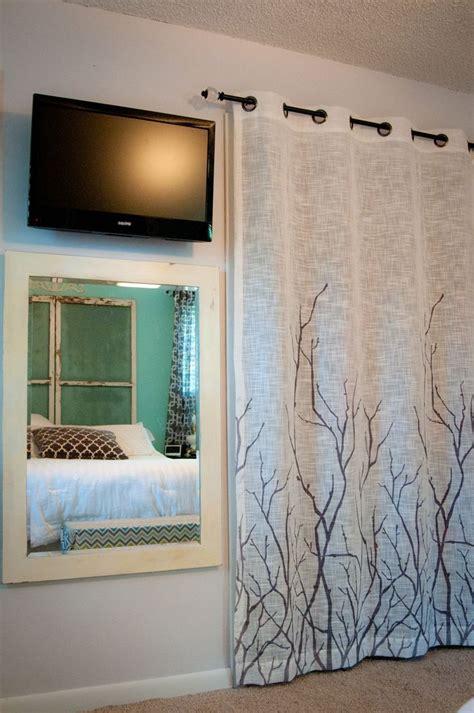 bedroom closet curtains 25 best closet door solutions images on pinterest window