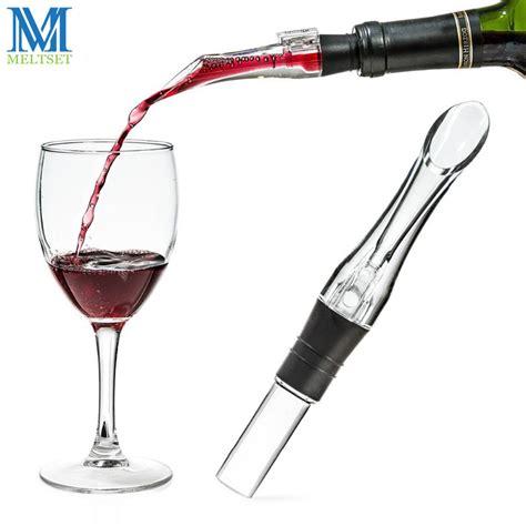 Wine Aerator Spout Pourer 1pc acrylic aerating pourer decanter wine aerator spout