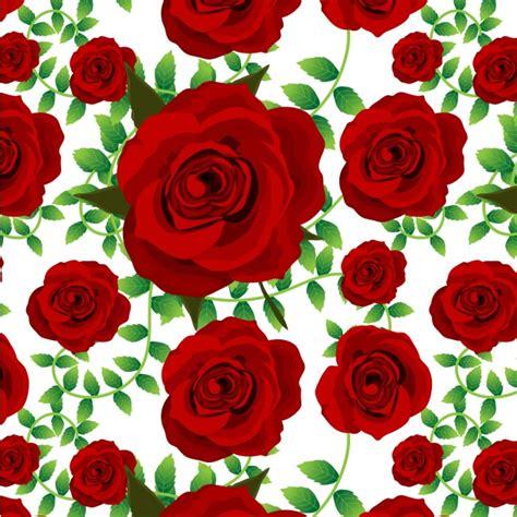 imagenes rosas rojas gratis fondo con patr 243 n de rosas rojas descargar vectores premium