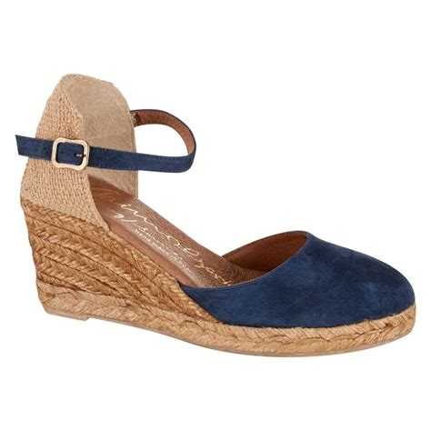 quot gaimo quot navy espadrille wedge tk maxx fashion