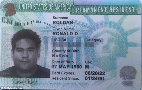 Green Card Criminal Record Evidence In Ronald Roldan S Attempted Murder Is Thrown Out Daily Mail