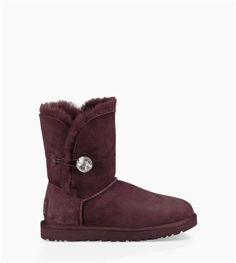 ugg boot slippers s bailey button bling boot ugg 174 official ugg