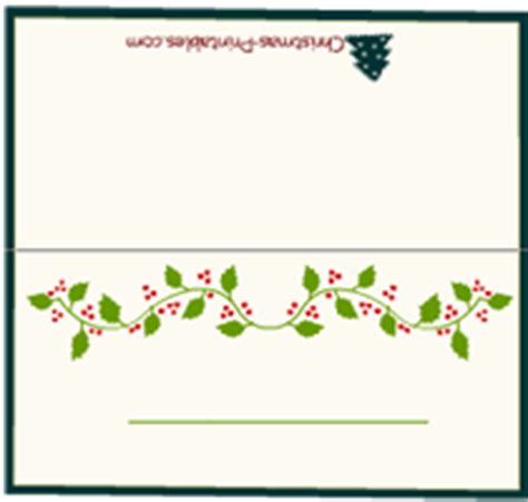 printable christmas name cards free printable christmas place cards