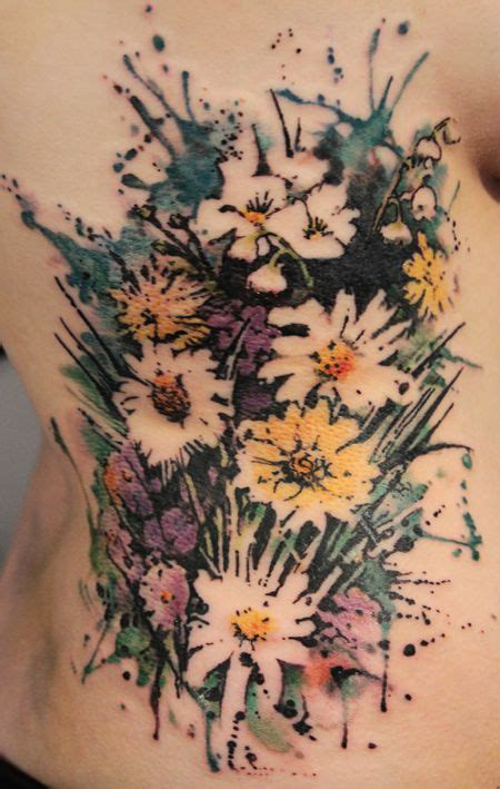 watercolor tattoo wildflowers 219 best images about wildflower on