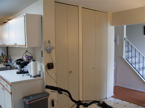 Maryland Kitchen Cabinets by Installing Ikea Pax Doors As Sliding Closet Doors Ikea