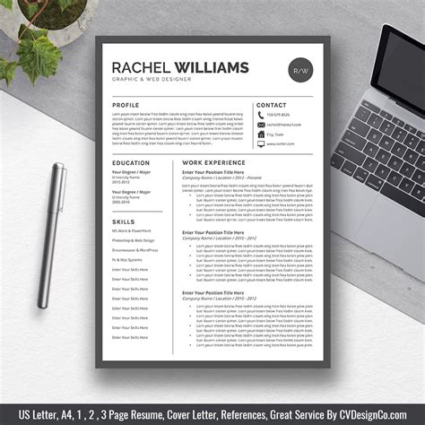 free resume templates download for microsoft word creative template