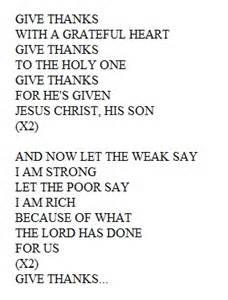 thanksgiving prayer lyrics henderson united methodist church weekly bulletin