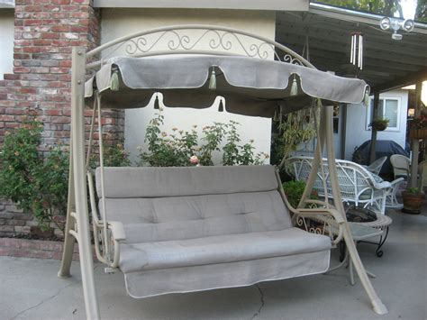 costco outdoor swing 3 person futon swing costco