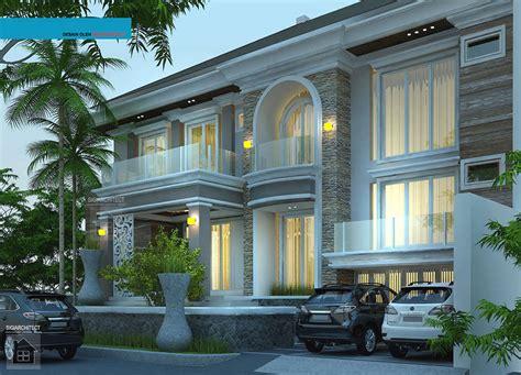 Desain Rumah Super Mewah 2 Lantai