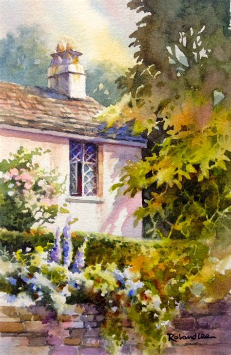 free painting guide learn to paint gardens cottages castles