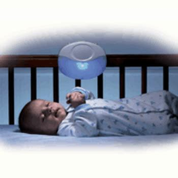 Baby Crib Lights The Voice Activated Crib Light Soothes Baby With Womb Sounds