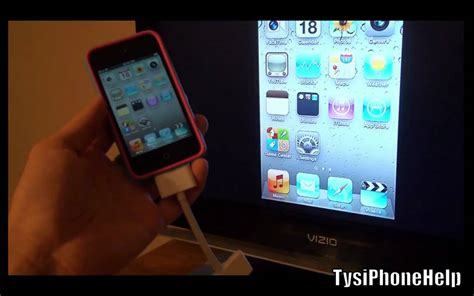Iphone 4 To Hdmi enable hdmi out on 1 iphone 4 ipod touch 4
